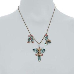 Valentino Garavani Rockstud Turquoise Necklace